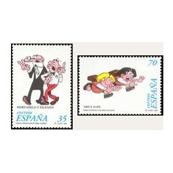 1998 España. Personajes de tebeo (Edif.3531/2)**