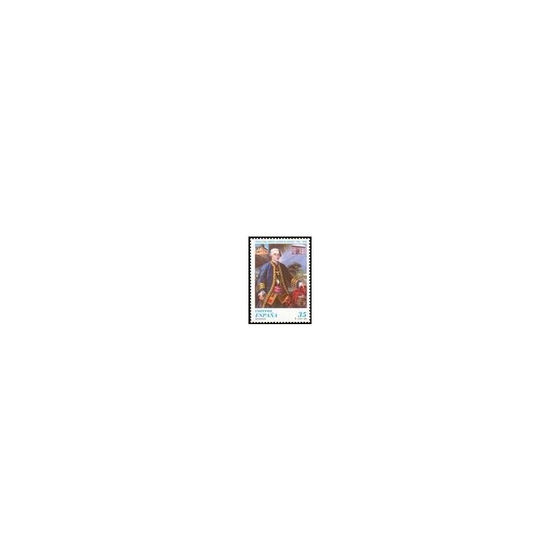 1998 España. Centenarios - Conde de Aranda (Edif.3537)**