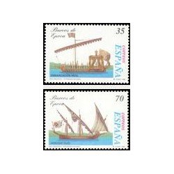 1998 Sellos de España (3540/41). Barcos de Época