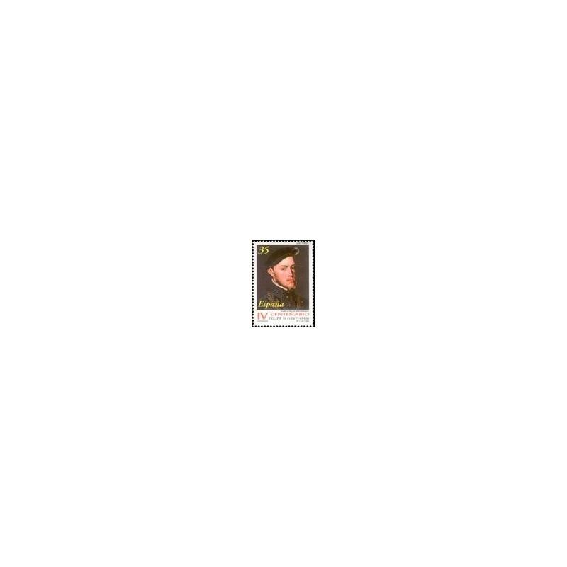 1998 España. Centenarios - Muerte de Felipe II (Edif.3548)**