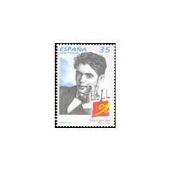 1998 Sellos de España (3549). Centenarios. García Lorca