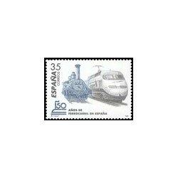 1998 España. 150 Años de Ferrocarril en España (Edif.3591)**