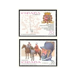 1998 Sellos de España (3598/99). 400 Años de Nuevo México