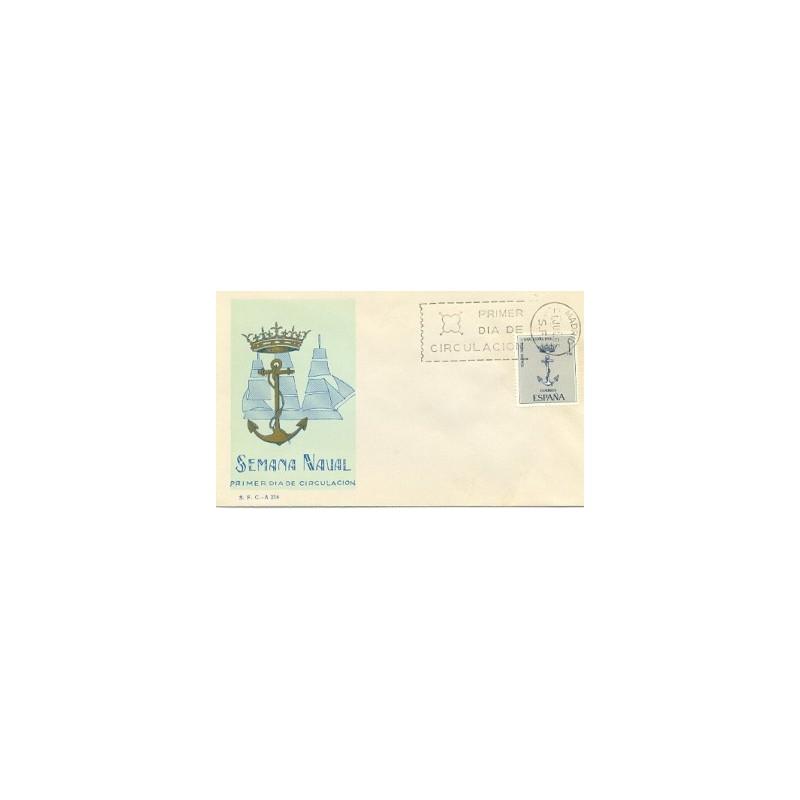 1966 SPD España. Semana Naval de Barcelona. (Edif.1737)