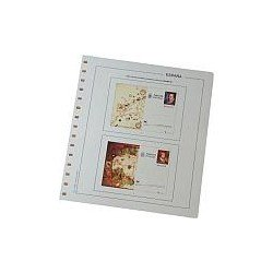 Juego Hojas Tarjetas Entero Postales España 2005