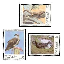 1999 España. Fauna Española en peligro (Edif.3614/16)**
