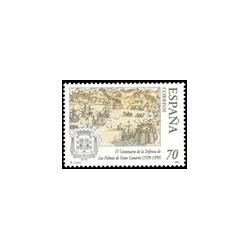 1999 España. Defensa de las Palmas de Gran Canaria (Edif.3649)**