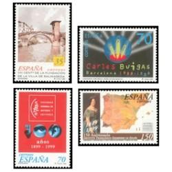 1999 España. Centenarios (Edif.3651/54)**