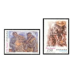 1999 España. Arte Español - Vela Zanetti (Edif.3656/7)