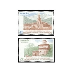 1999 España. Patrimonio Mundial de la Humanidad (Edif.3662/3)**