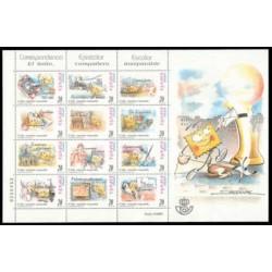 1999 España. Corresp. Epistolar Escolar (Edif.3665/76 sellos sueltos)**