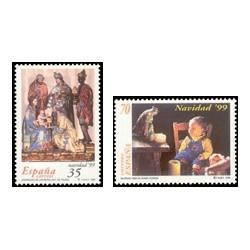 1999 España. Navidad. (Edif.3685/6)**