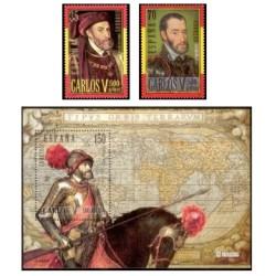 2000. España. Centenario del Nac. de Carlos V. (Edif.3697/9)**