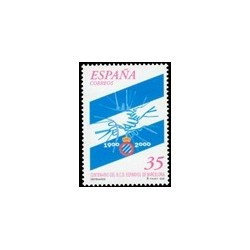 2000. España. Cent. del R.C.D. Español. (Edif.3705)**