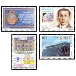 2000. España. Ciencias. (Edif.3708/11)**