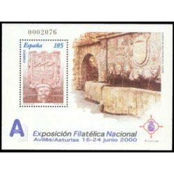 2000. España. EXFILNA 2000. (Edif.3716)**