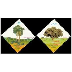2000. España. Árboles. (Edif.3717/8)**