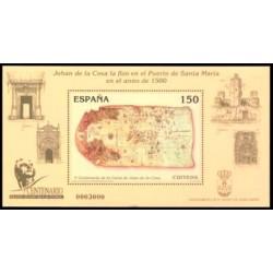 2000. España. Carta de Juan de la Cosa. (Edif.3722)**