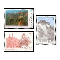 2000. España. Patrimonio de la Humanidad. (Edif.3729/31)**