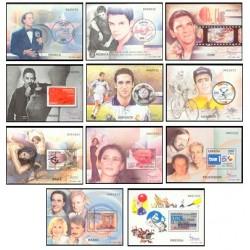 2000. España. Exposición Mundial - Personajes. (Edif.3756/66)**