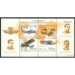 2001 España. Primeros Vuelos de la Aviación Española (Edif.3790)