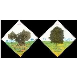 2001 España. Árboles (Edif.3803/4)**