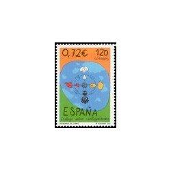 2001 España. Día Mundial del Correo (Edif.3820)**