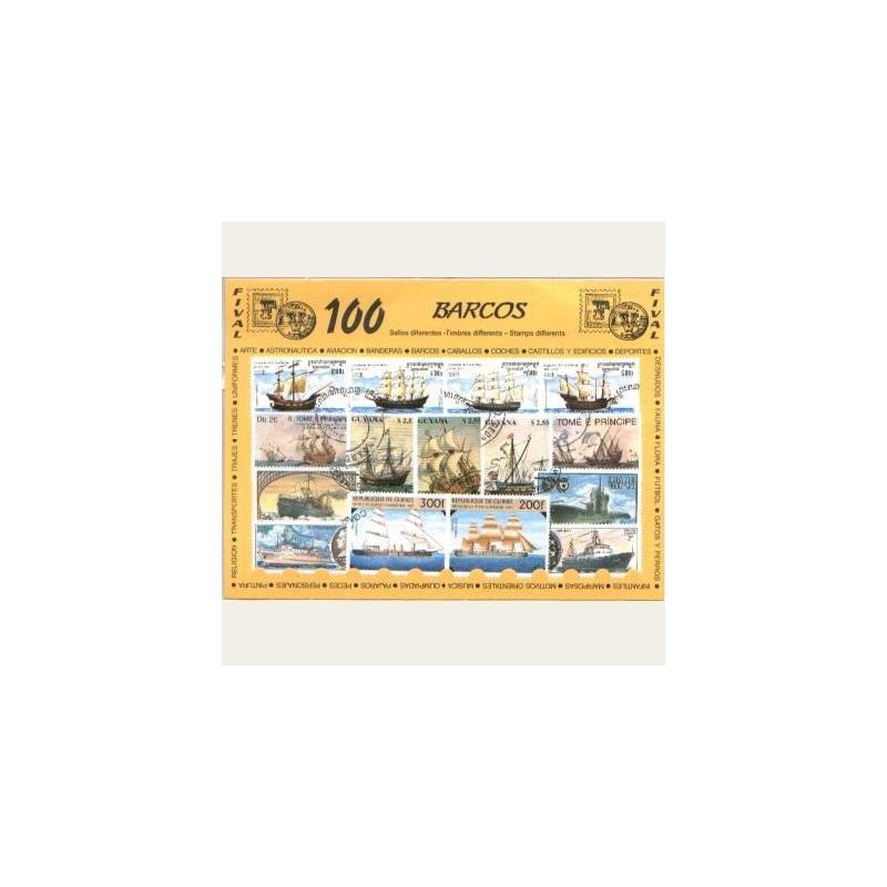 Sellos Temáticos 100 Diferentes (usados)