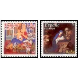 2001 España. Navidad (Edif.3835/6)**