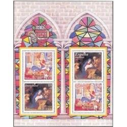 2001 España. Navidad H.B Emisión conjunta con Alemania (Edif.3837)**