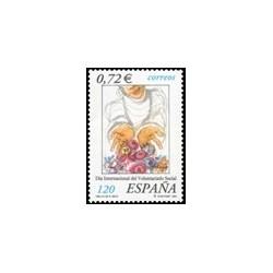 2001 España. Día del Voluntariado Social (Edif.3842)**