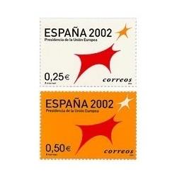 2002 España. Presidencia de la Unión Europea (Edif.3865/6)**