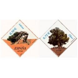 2002 España. Árboles (Edif.3867/8)**