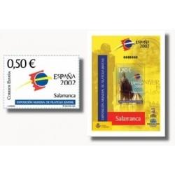 2002 España. Exp. Mundial Filatelia Juvenil (Edif.3877/8)**