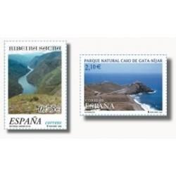 2002 España. Naturaleza (Edif.3884/5)**