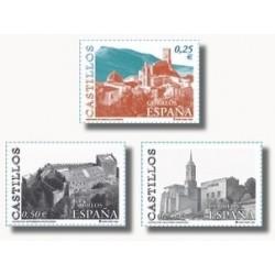 2002 España. Castillos (Edif.3889/91)**