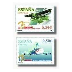 2002 España. Primer Vuelo de Iberia (Edif.3907/08)**