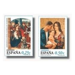 2002 España. Navidad (Edif.3955/6)**