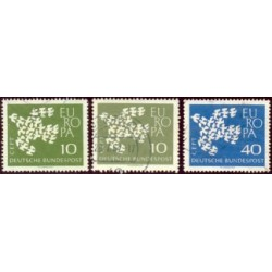 1961 Alemania. Europa CEPT. Ø