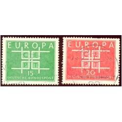 1963 Alemania. Europa CEPT. Ø