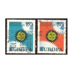 1967 Alemania. Europa CEPT. Ø