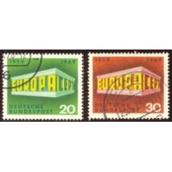 1969 Alemania. Europa CEPT. Ø