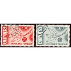 1965 Francia. Europa CEPT. Ø