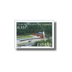 Sellos de España 2003. Túnel de Somport (Edifil 3957)**