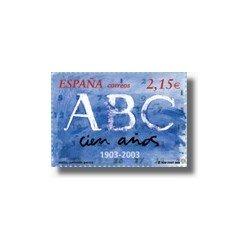Sellos de España 2003. Diario ABC (Edifil 3963)**