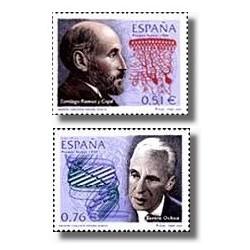 Sellos de España 2003. Premios Nobel Españoles (Edifil 3964/5)**