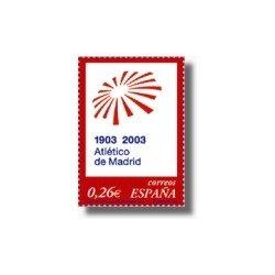 Sellos de España 2003. Club Atlético de Madrid. (Edifil 3983)**