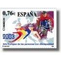 Sellos de España 2003. Año de las Personas Discapacitadas. (Edif.3985)**