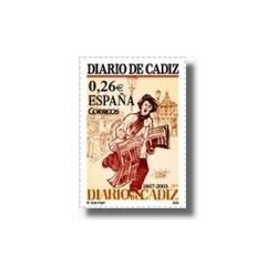 Sellos de España 2003. Diario de Cádiz. (Edifil 3995)**