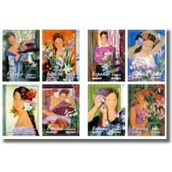 2003 Sellos de España. La Mujer y las Flores. (Edifil 4003/10)**